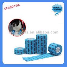 Non-woven Medical Dog Bandage Horse Elastic Bandages Tape