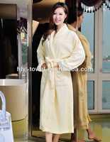 fashion sexy organic cotton sleeping robe for woman