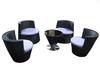 2014 New Cheap outdoor furniture set wicker synthetic rattan garden furniture