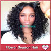 curly human hair middle part lace front wigs cheap factory price