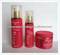 De plástico pp tarro de crema y una botella para cuidado de la piel& cuidado del cabello& máscara facial