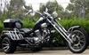 250cc Road Warrior 3 Wheeled Chopper