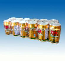 china manufacturing PE shrink film for ALUMINUM TANK packaging , Aluminum bottles packaging