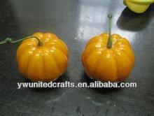 Poam fruit artificial fruit -party decoration handmade pumpkin