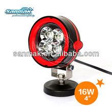 New fashion led work light 4x4 suv car china 4x4 atv led light 6161