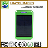 High capacity cell phone solar charger with CE FCC RoHS Approval