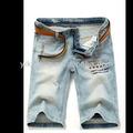 จีนขายส่งใหม่ร้อนบุรุษกางเกงขาสั้นสำหรับ2014, กางเกงขาสั้นผ้ายีนmm08ผู้ผลิตจีน