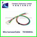 Enchufe de cc jack y montaje de cable, electrónico ensamblajedecables personalizado