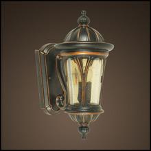 Romantic design led lighting dream champagn seedy glass wall lamp (HS0585-DN)