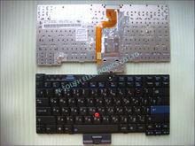 Wholesale price laptop keyboard x200s x201s 42t3753 for ibm lenovo ru layout black