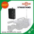 Nlos1-2km mobile sans fil hd-sdi fibre optique émetteur et le récepteur