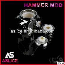 Aslice 2014 High quality Perfect design best selling hammer mod e-cig