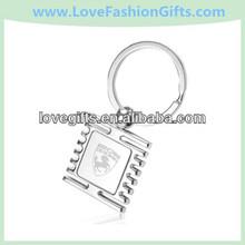 Custom Chrome Metal Keychains & Promotional Engraved Key Chains