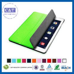 C&T Best selling slim flip smart cover for ipad 5 case