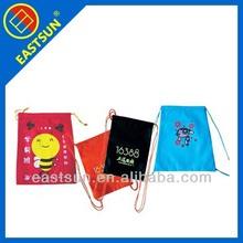colorful printing nylon shopping bag