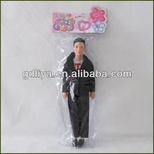 Plastic handsome man doll