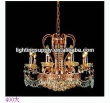 traditional interior crystal light