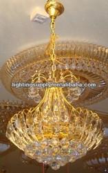 latest design cristal murano light