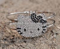 Fashion Hello Kitty Bracelets Wholesale Shamballa Bracelets Fast shipping