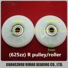 625zz R type nylon door & window pulley wheels
