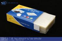 Laminate cover:Transparent plastic sheets in PET/EVA in 60mic-250mic