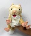 La fábrica de china del ratón estilo títeres/marionetas de la mano del ratón de felpa mano títeres/marionetas