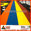 Epdm rubber granules rubber crumb for running track