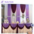 2014 nuevo diseño baratos mesa bordeando para la decoración de la boda
