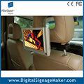 7 polegada movimento ativado publicidade de volta assento tv para carro