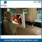 7 inch motion activated advertising back seat tv for car