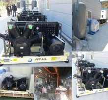 PET-0.6/60 high pressure air compressor for pet blow moulding machine
