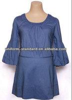 100%cotton Maternity blouse pregnant women wear
