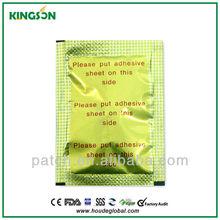 Vente chaude nouveau produit patch pied japonais / jungong patch de désintoxication / detox patch foot chine fournisseur