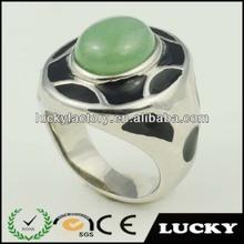 2014 China factory price fashion ring jade ring men ring model