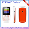 new products 2014 China supplier IC18 CDMA mobile phone