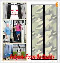 Camouflage Design Magic Mesh Camouflage Print Magnetic Screen Door As Seen On TV