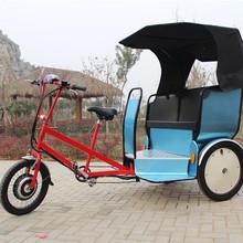 electric rickshaw front passenger