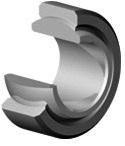 Radial spherical plain bearings GEC..XT maintenance free self alignment, bearing sizes of 440*440*160mm