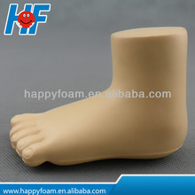 foot shape pu stress ball,meidical promotion