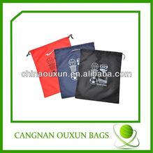 fashion customized nylon drawstring bag for men
