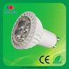 high quality aluminum plastic 4*1w gu10 led bulbs 220v