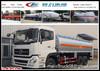 260Hp 6*4 fuel tanker truck,18cbm oil truck