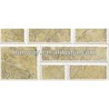 Popular elegante parede de tijolos decorativos verniz telha 200 * 400 mm