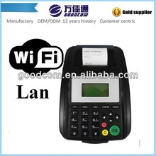 GOODCOM Handheld Bill Machine print thermal 3g For Mobile Top up, E-voucher, Bill payment Can Provide SDK