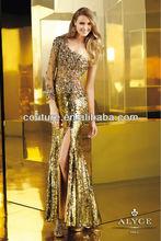 2014 fashion dubai design top brand chiffon custom make evening dress 2255 gold evening dress malaysia online shopping