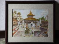 Pashupati temple frame