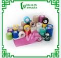 De algodón puro para el hogar/hospital/médicos/herida rollos de gasa vendaje