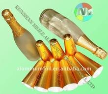 Kunshan aluminium foil champagne capsule