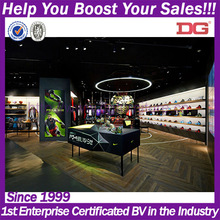 Sport basketball shoe shop furniture equipment interior design