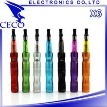 Bamboo style Variable voltage e cigarette X6 kit, e cig kamry x6, x6 v2 atomizer